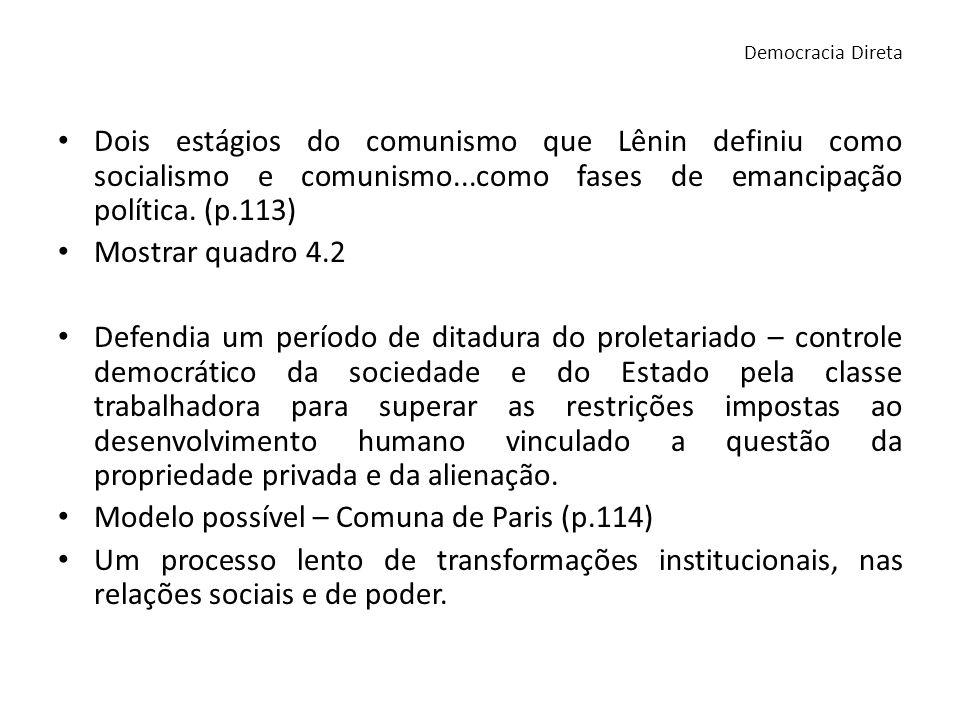 Integração entre sociedade e Estado, onde a governança ocorrerá de forma coletiva.