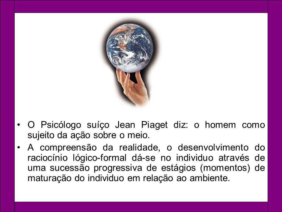 Nós recebemos e buscamos informações no mundo e as assimilamos, e depois as informações são incorporadas e transformadas em nova informação, ou acomodação.