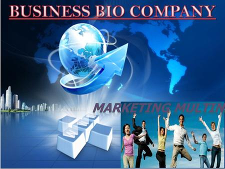 BUSINESS BIO COMPANY Marketing multinivel.
