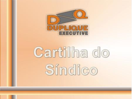 Cartilha do Síndico.