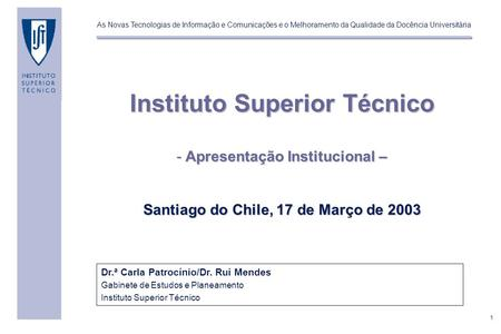 Instituto Superior Técnico
