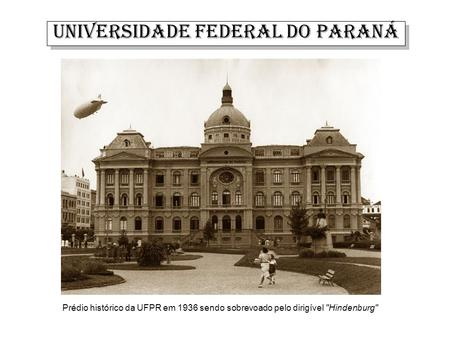 UNIVERSIDADE FEDERAL DO PARANÁ