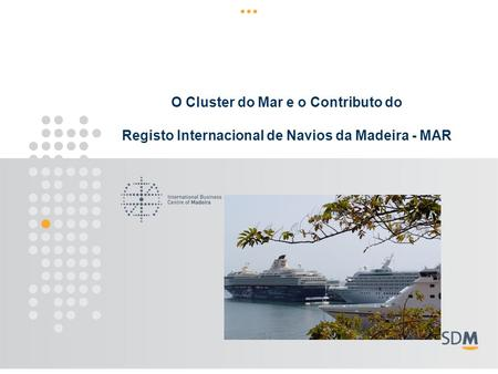 O Cluster do Mar e o Contributo do