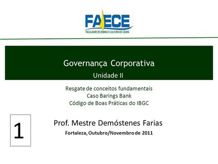 Governança Corporativa
