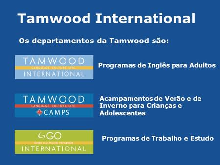 Tamwood International