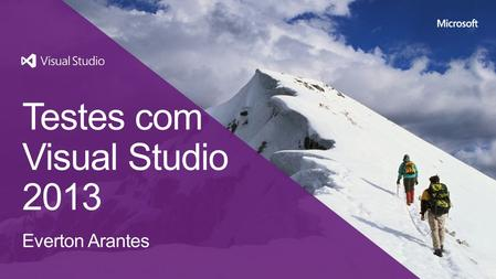 Testes com Visual Studio 2013