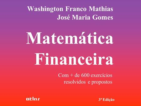 Washington Franco Mathias José Maria Gomes