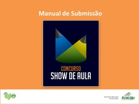 Manual de Submissão.