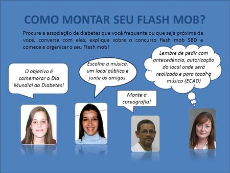 COMO MONTAR SEU FLASH MOB?