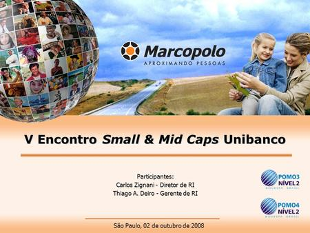 V Encontro Small & Mid Caps Unibanco
