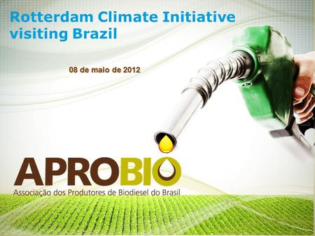 Rotterdam Climate Initiative visiting Brazil