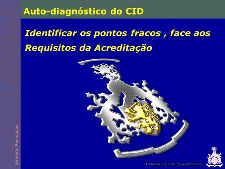 Auto-diagnóstico do CID