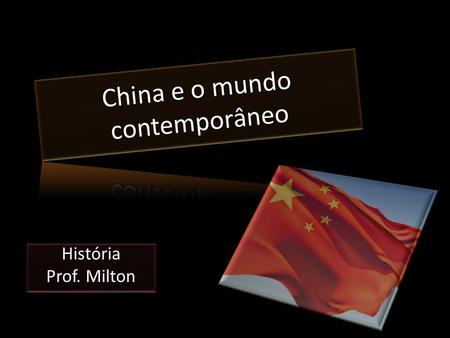 China e o mundo contemporâneo