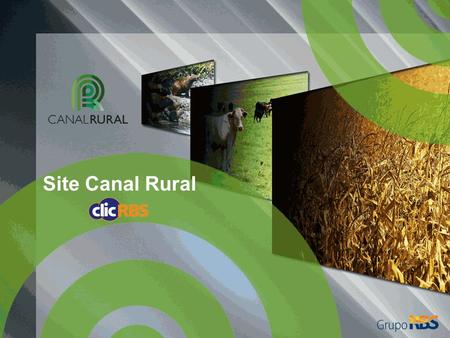 Site Canal Rural.