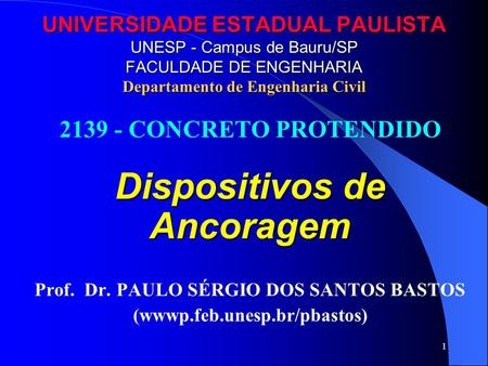 Dispositivos de Ancoragem