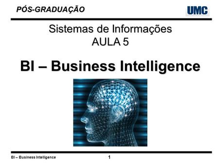 BI – Business Intelligence