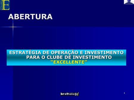 Clube de investimento forex