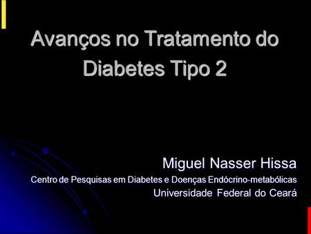 Avanços no Tratamento do Diabetes Tipo 2