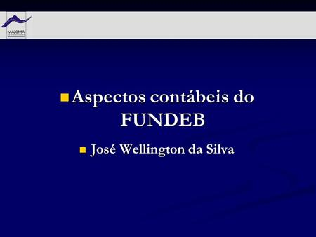 Aspectos contábeis do FUNDEB