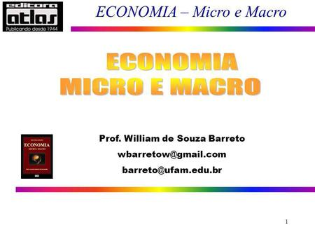 Prof. William de Souza Barreto