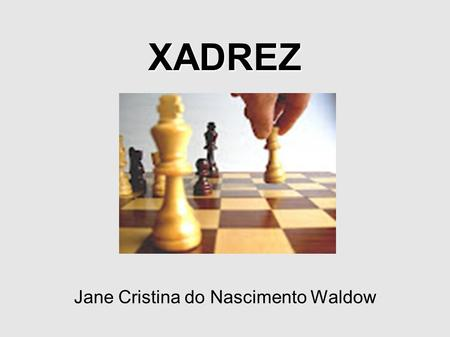 Jane Cristina do Nascimento Waldow