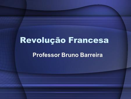 Professor Bruno Barreira