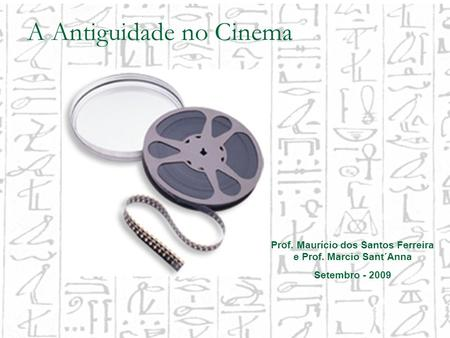 A Antiguidade no Cinema