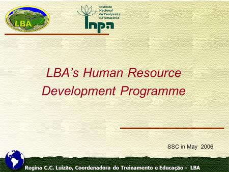 LBA's Human Resource Development Programme