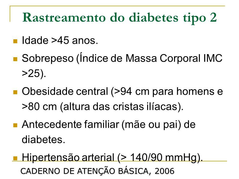Colesterol HDL 35 mg/dL e/ou triglicerídeos em 150 mg/dL.
