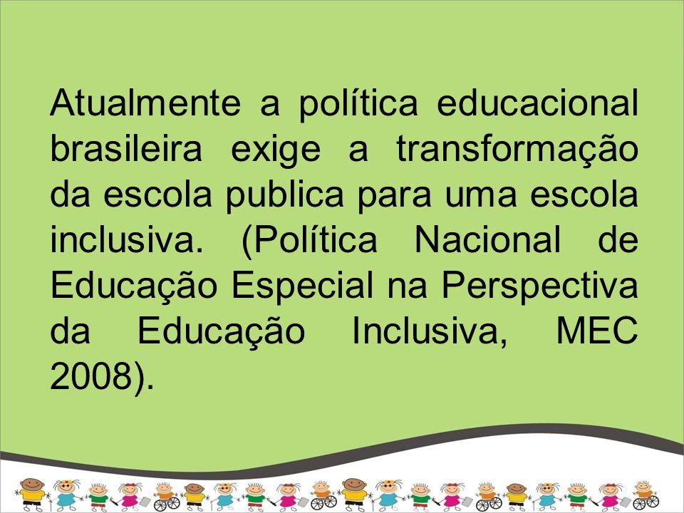 Face a demanda da nova Politica a universidade brasileira deve se transformar profundamente em sua pratica de formação inicial de professor, passando de uma formação centrada no aluno abstrato para uma formação centrada nas diferenças.