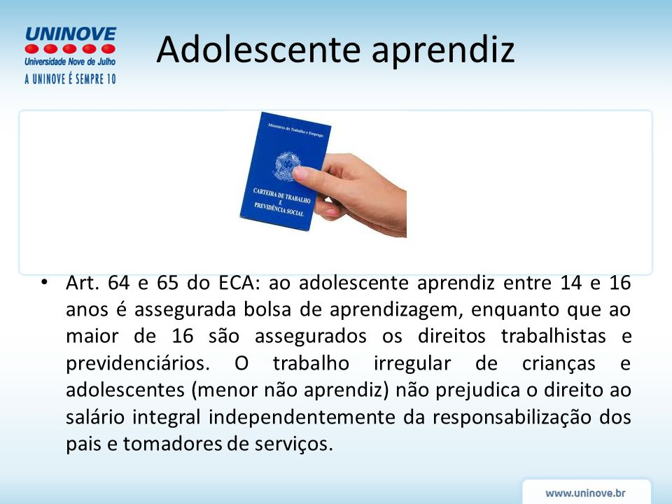 Programa de aprendizagem – CLT art.428 e Decreto n.