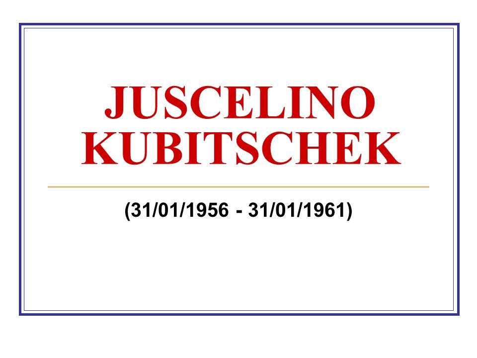 Juscelino Kubitschek Transformações econômicas: 50 anos de Progresso em 05 de Governo Cresc.