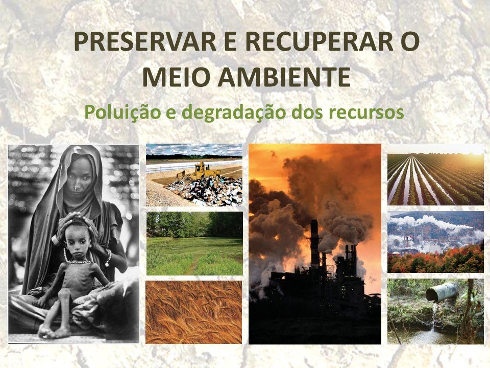 Questões-problema.Que actividades humanas têm contribuído para a poluição do planeta.