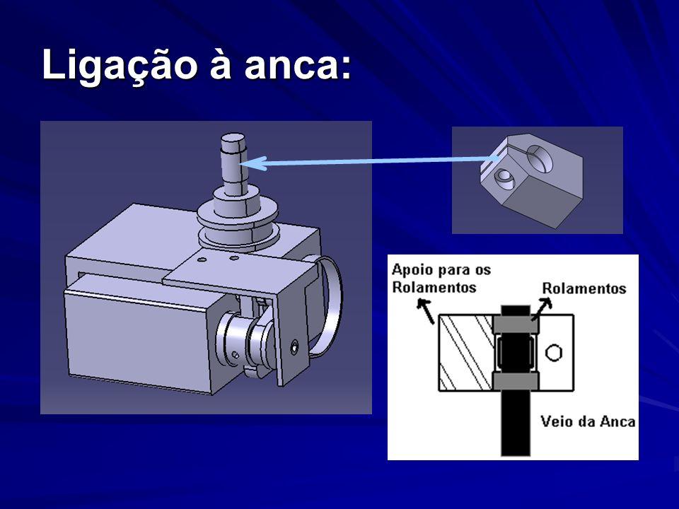 Distância entre pernas: A distância entre pernas: 170 mm120 mm