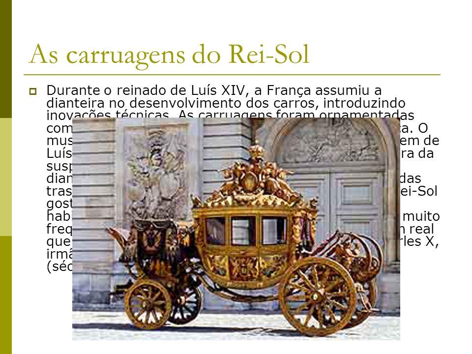 Sege Um dos primeiros veículos sobre rodas utilizado no Brasil, a sege ainda era usada no final do século XIX em logradouros distantes do centro do Rio de Janeiro.