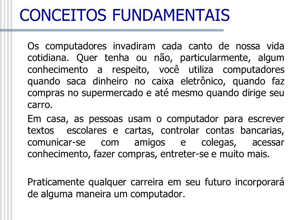 Informática: é informação automática, isto é, o tratamento da informação de modo automático.