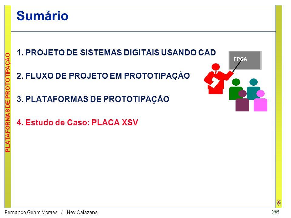 3/85 PLATAFORMAS DE PROTOTIPAÇÃO Fernando Gehm Moraes / Ney Calazans katherine moraes daniel carlos rodrigo Sumário 1.