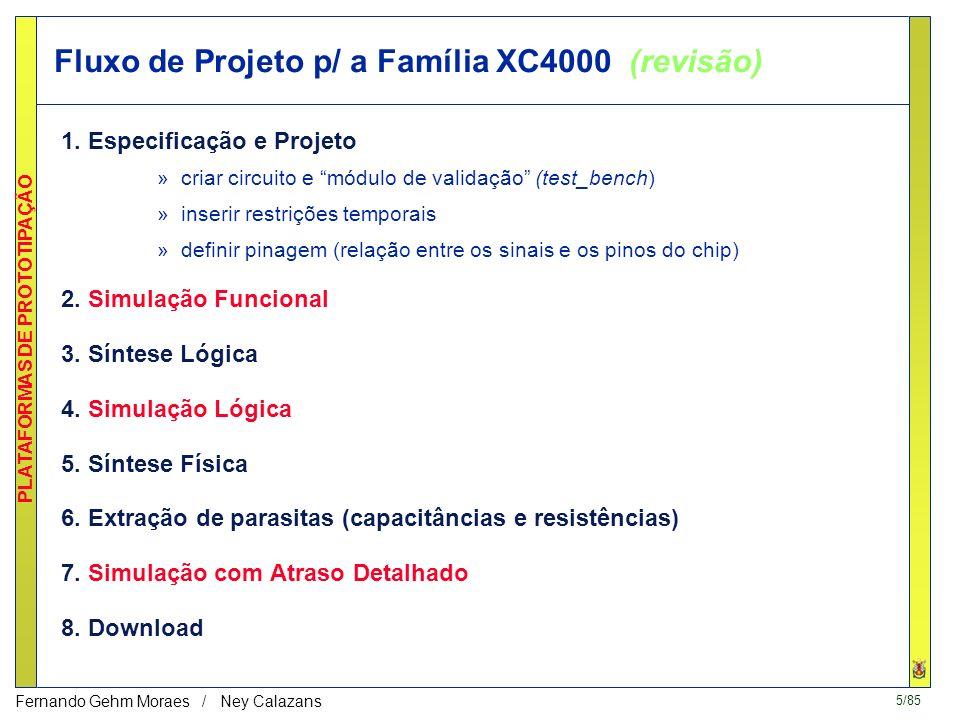5/85 PLATAFORMAS DE PROTOTIPAÇÃO Fernando Gehm Moraes / Ney Calazans 1.