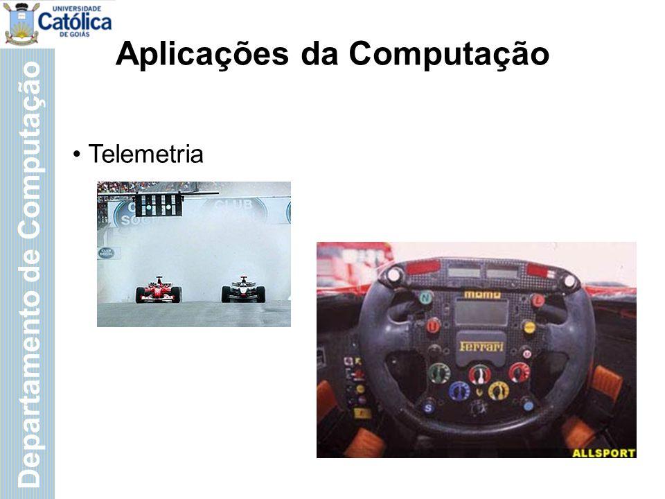 Departamento de Computação Aplicações da Computação Marketing; Telecom & TV; (... ;...)
