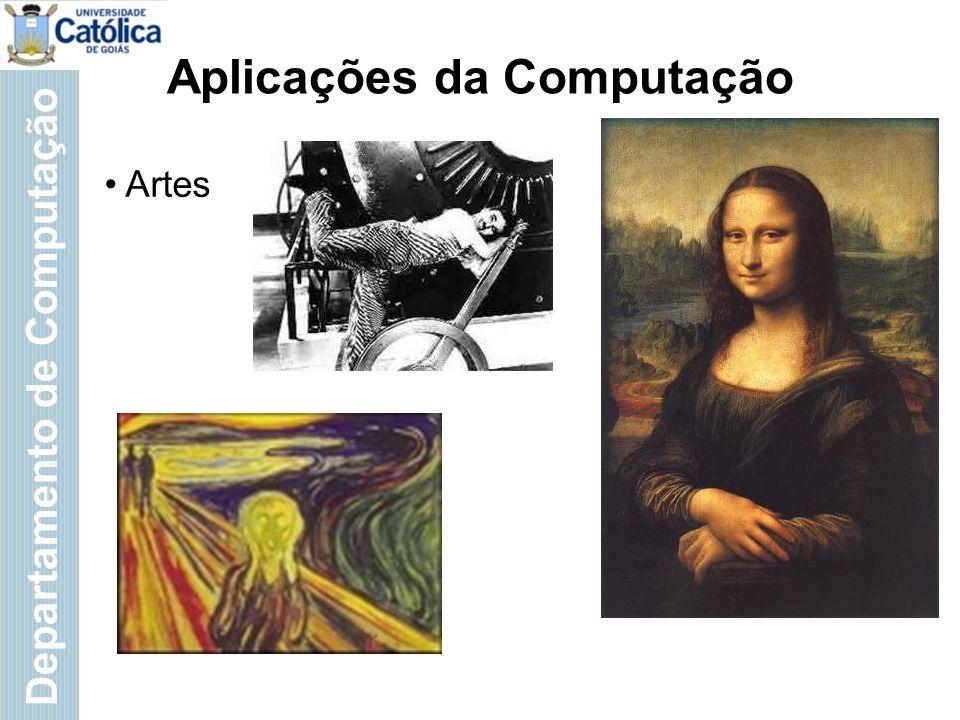 Departamento de Computação Aplicações da Computação Segurança