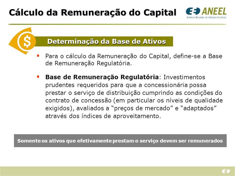 Cálculo da Remuneração do Capital Como é definida a Taxa de Remuneração?
