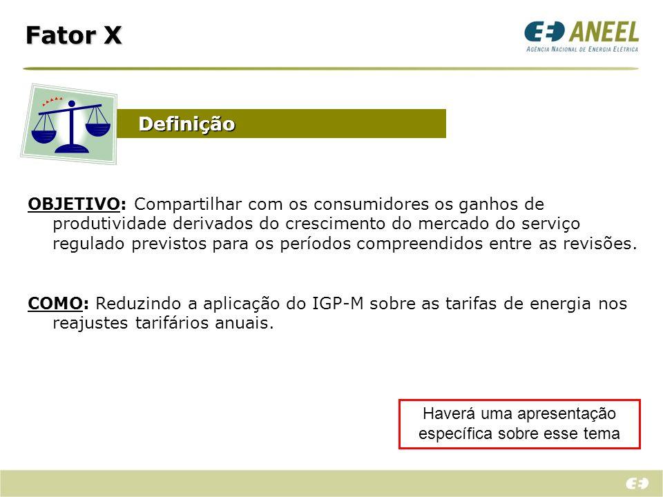 RECEITA Encargos setoriais + Compra de Energia + Encargos de Transmissão BLINDADA!!.