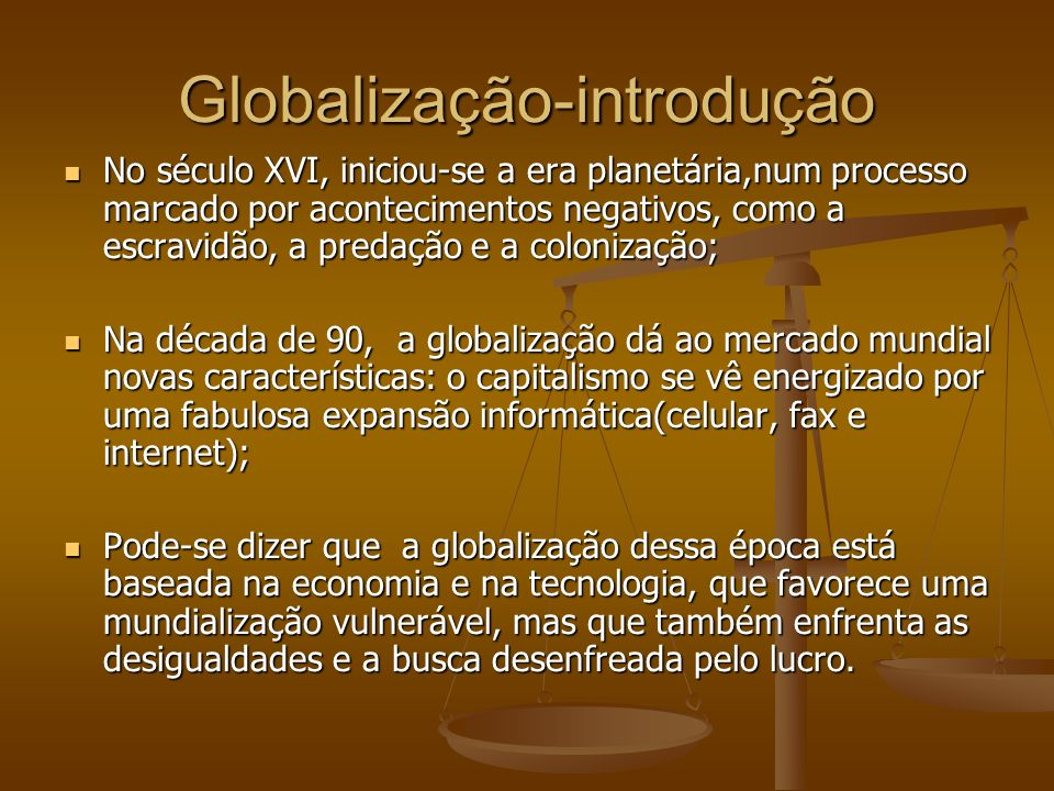 Sociedade-mundo.