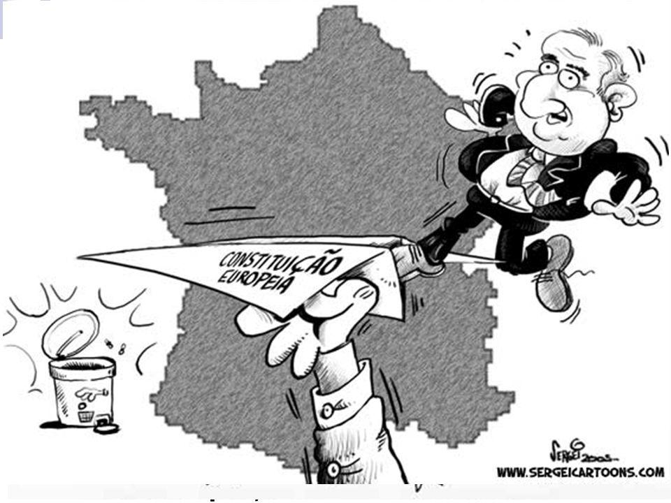 Uma Europa ainda incompleta O não francês e holandês mostrou que ainda não existem os europeus, mas sim franceses, alemães, holandeses...