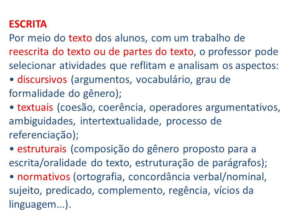 Em Língua Portuguesa: Discurso como prática social