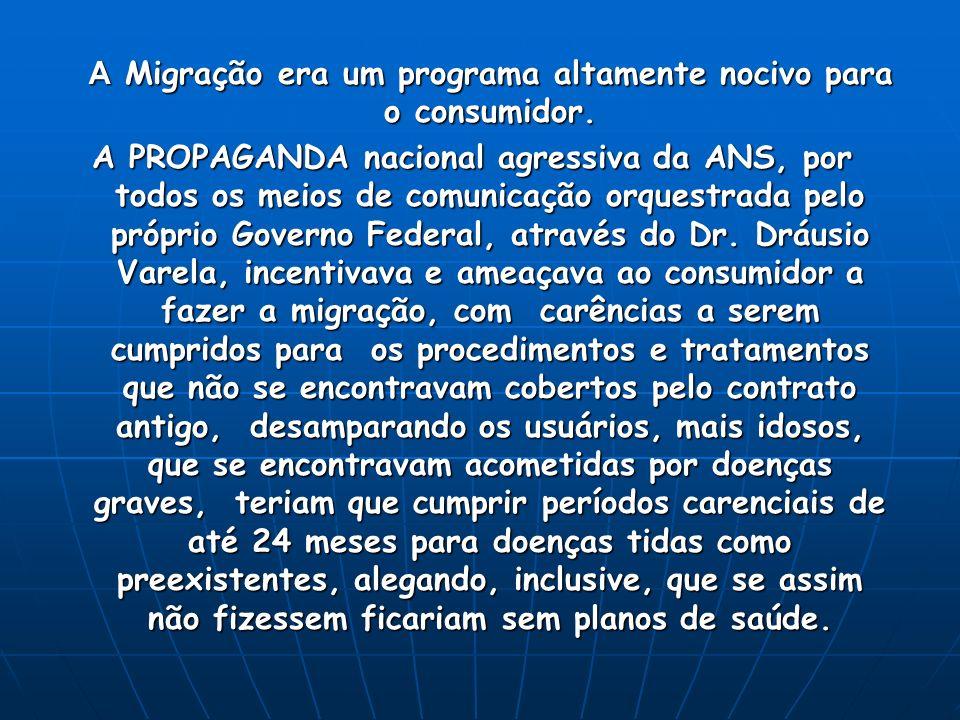 A ADUSEPS ingressou na esfera federal com uma Ação Civil Pública, com o objetivo de impedir o PIAC, Processo nº 2004.83.00.011896-0, - 1 a.