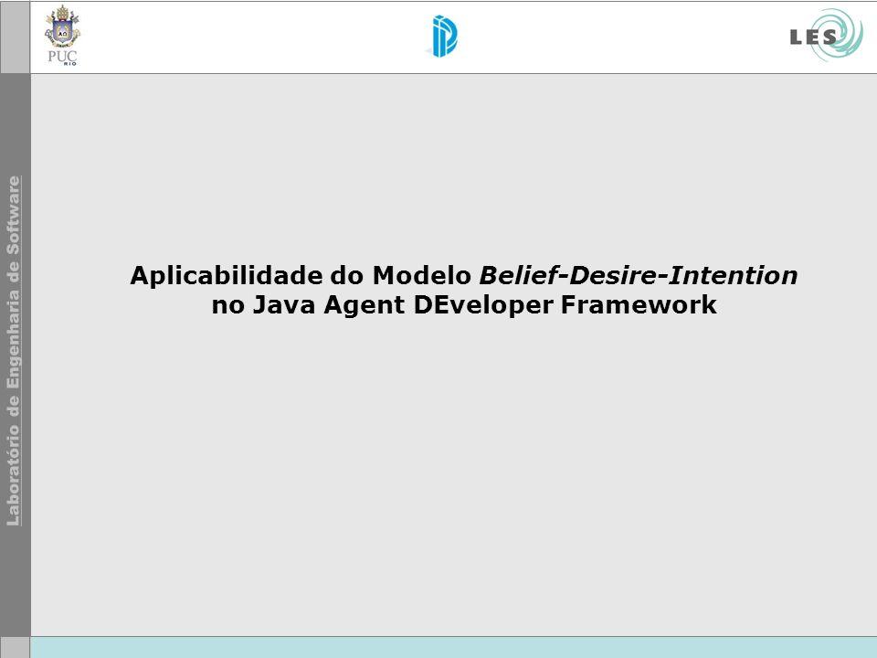 49 © LES/PUC-Rio Motivação Framework JADE não aplica o conceito BDI.