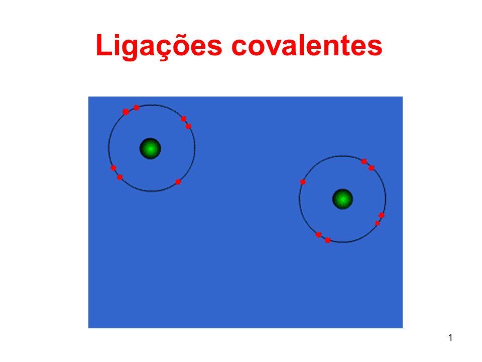 2 A ligação por covalência de 1 mol de H 2 libera 436 kJ/mol FORMAÇÃO DA LIGAÇÃO COVALENTE A combinação aditiva de dois orbitais atômicos 1s leva a uma condição de menor energia.