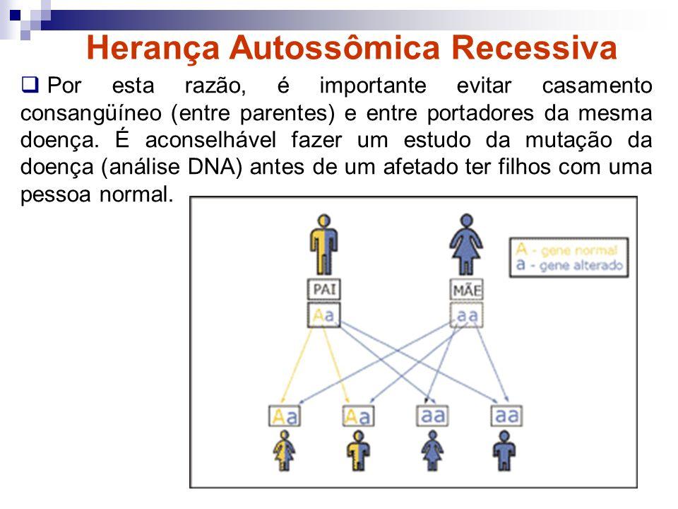 Herança ligada ao X O gene alterado está no cromossomo X.