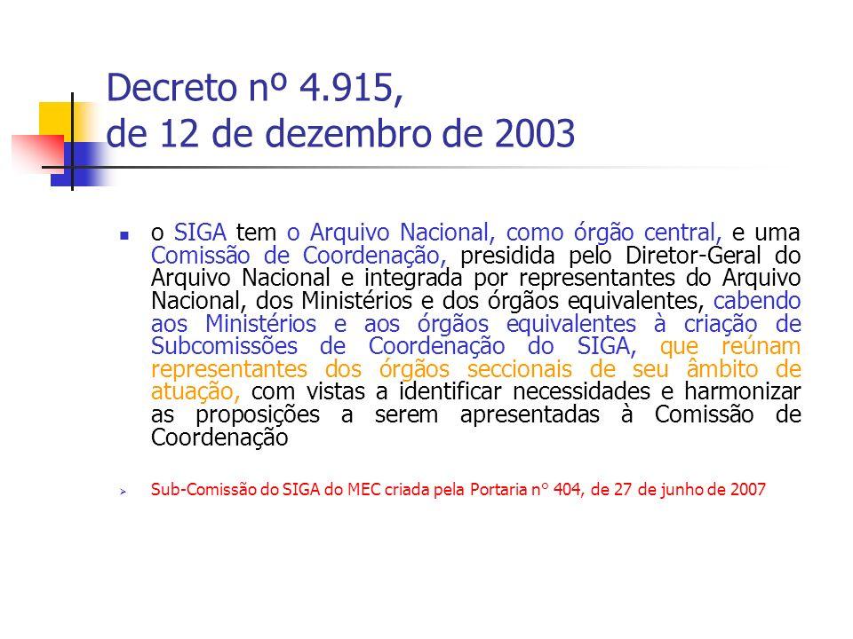 Decreto nº 5.135, de 7 de julho de 2004 Art.13.